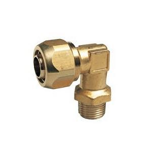 【OK335 13】 《KJK》 オーミヤ BS継手 ポリ管継手オスエルボ 黄銅鍛造製 サイズ13水道用、13一般用 ωξ0|kjk