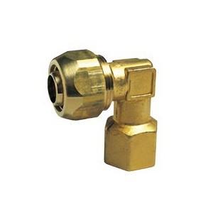 【OK336 13】 《KJK》 オーミヤ BS継手 ポリ管継手メスエルボ 黄銅鍛造製 サイズ13水道用、13一般用 ωξ0|kjk