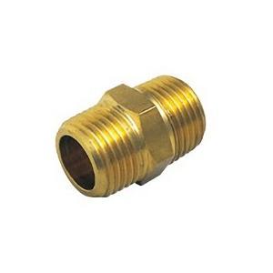 【OK370 10】 《KJK》 オーミヤ BS継手 BS六角ニップル 黄銅製 サイズ10 ωξ0|kjk
