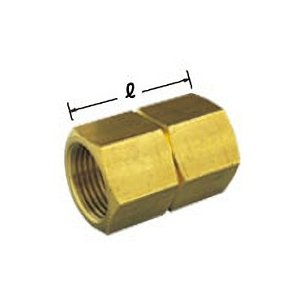 【OK383 13】 《KJK》 オーミヤ BS継手 鍛造ソケット 黄銅製 サイズ13 ωξ0|kjk