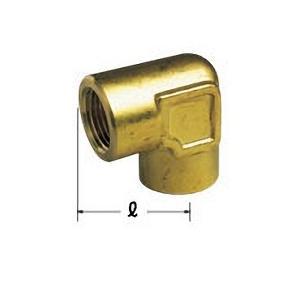 【OK384 10】 《KJK》 オーミヤ BS継手 鍛造エルボメス 黄銅製 サイズ10 ωξ0|kjk