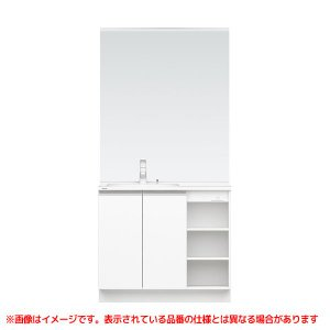 XGQC90D5GY◯ L 高品質新品 R GQC90C3SPLM 《KJK》 パナソニック 洗面化粧台 900mm Cライン MS洗面 ωκ0 エコカチットあり オープン棚 舗 LED3面鏡
