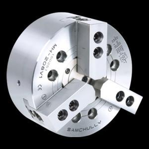 パワーチャック SAMCHULLY製品 三爪 大貫通穴中型 モデル:MH−208|kkanomachine