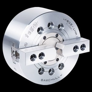 パワーチャック SAMCHULLY製品 二爪 超高速、大型中空型 モデル:MHT-210 |kkanomachine