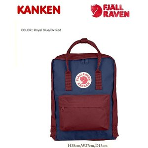 FJALLRAVEN フェールラーベン【カンケンバッグ】RoyalBlue/OX.Red|kkp
