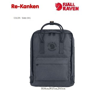 リサイクル カンケンバッグ フェールラーベン FJALLRAVEN  RE KANKEN グレー041|kkp