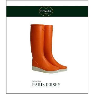 ルシャモー・レインブーツ/Paris. Jersey/Orange|kkp