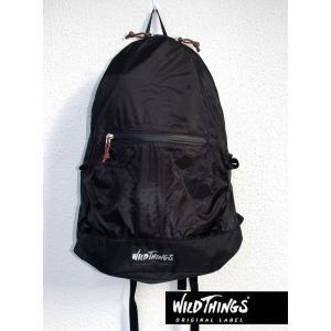 セール WildThings ワイルドシングス デイパック ブラック 15L|kkp