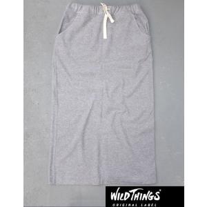 WildThings ワイルドシングス クールマックス パイル ロングスカート|kkp