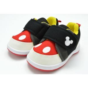ディズニー Disney DS0180 ファーストシューズ スニーカー ベビー 赤ちゃん 子供 ブラ...