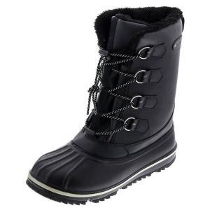 トレイルマスター TR-025 スノーブーツ ビーンブーツ ウインターブーツ メンズ 紳士 防寒 防水 防滑 ブラック 靴 SALE|kksimple