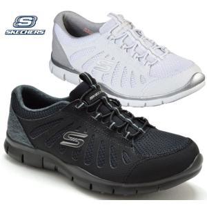 スケッチャーズ 104031W SKECHERS GRATIS COMFY FEELS スリッポンシューズ スニーカー レディース 婦人 幅広 BBK ブラック WHT ホワイト 靴|kksimple