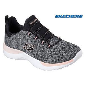 スケッチャーズ 12991 SKECHERS DYNAMIGHT-BREAKTHROUGH スニーカー スリッポンシューズ レディース 婦人 BKCL ブラック/コーラル 靴|kksimple