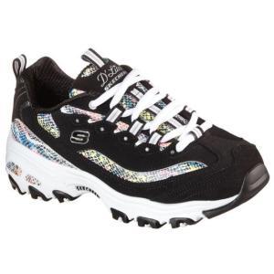 スケッチャーズ 149243 SKECHERS D'LITES SMOOTH GLIDE スニーカー レディース 婦人 ウィメンズ BKMT ブラック/マルチ WMLT ホワイト/マルチ 靴|kksimple