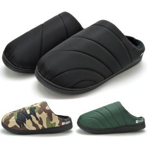 SOL 29604 クロッグサンダル クロッグシューズ メンズ 紳士 内ボア オフィス 室内履き ブラック カモ グリーン 靴|kksimple