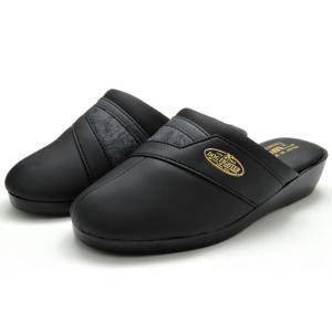 送料無料 [北海道、沖縄除く] メンズサンダル 314 メンズヘップサンダル つっかけ 鼻緒付き メンズ 紳士 3E 防寒 日本製 黒 紺 靴|kksimple