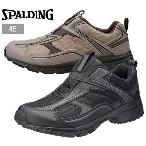 スポルディング JN-335 JIN 3350 SPALDING スニーカー メンズ 紳士 幅広 撥水 ブラック サンド 靴 セール SALE kksimple