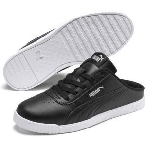 プーマ PUMA 371137 CARINA SLIM MULE クロッグサンダル スニーカー レディース 婦人 01 ブラック/ブラック 02 ホワイト/ホワイト 靴|kksimple