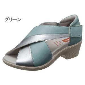 アウトレット トパーズ アルコ 7240 TOPAZ aruko コンフォートサンダル ウォーキングサンダル レディース 婦人 3E 幅広 ブラック グリーン キャメル 靴|kksimple