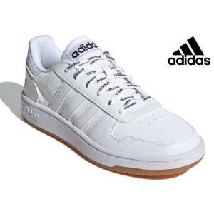 アディダス adidas FY8630 ADIHOOPS 2.0 U スニーカー ローカット メンズ レディース 紳士 婦人 靴 フットウェアホワイト 白|kksimple
