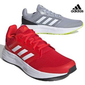 アディダス adidas FY6721 FY6720 GALAXY 5 M スニーカー ランニングシューズ メンズ 紳士 レッド/ホワイト/レッド シルバー/ホワイト/ブラック 靴|kksimple