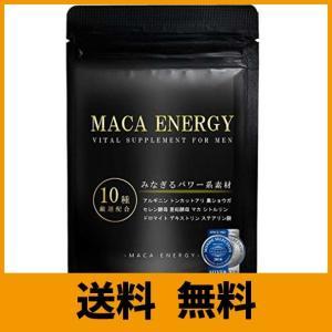 モンドセレクション受賞 MACA ENERGY-マカエナジー- 厳選10種のパワー系素材1日の摂取目...