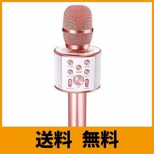 Verkstar Bluetoothカラオケマイク ブルートゥースワイヤレスマイク Bluetooth スピーカー デュエット&伴奏機能付き 大容量2|klab-store