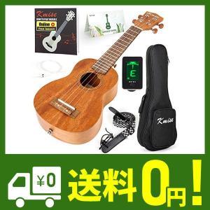 kmise ソプラノウクレレ 21インチウクレレ ハワイアンギター.初心者セット|klab-store