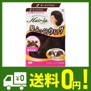 小林製薬 ヘアラ髪ふっくらウィッグ ダークブラウン klab-store