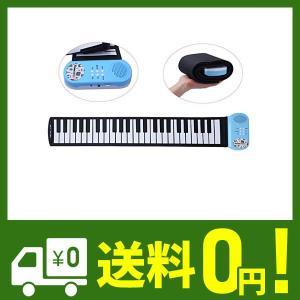 CAHAYA ロールピアノ 49鍵 折畳 電子ピアノ 楽器 玩具 初心者 練習 日本語説明書付き|klab-store