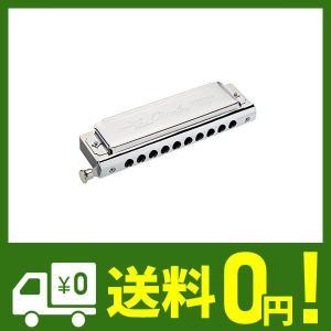 Swan クロマチック ハーモニカ 10穴  40トーン ステンレス製 Cキー ボックス付き【並行輸入品】|klab-store
