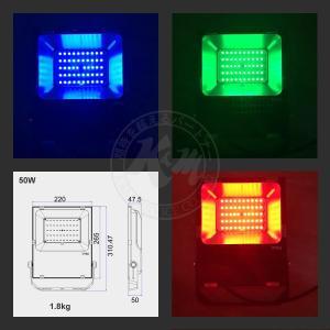 RGB16色 50W LED 投光器 LED投光器 LED投光機 AC85V〜265V対応 看板灯 集魚灯 作業灯 駐車場灯 多用途 PSE 1年保証 K&M|km-serv1ce|04