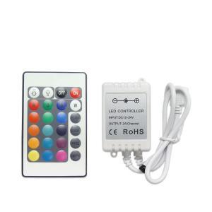 K&M LEDテープ RGB専用 コントローラ リモコン 12V テープLED| 1ヶ月保証|km-serv1ce