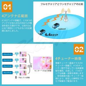 高画質 地デジチューナー フルセグ ワンセグ HDMI FAKRAコネクター 4チューナー 4アンテナ 高性能 miniB-CASカード付き 1年保証 K&M|km-serv1ce|04