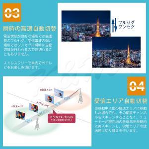 高画質 地デジチューナー フルセグ ワンセグ HDMI FAKRAコネクター 4チューナー 4アンテナ 高性能 miniB-CASカード付き 1年保証 K&M|km-serv1ce|05