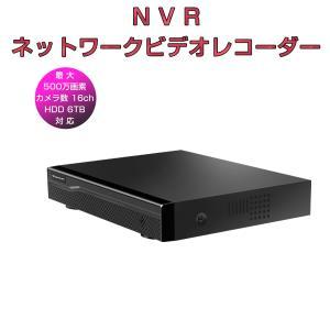 NVR ネットワークビデオレコーダー 16ch IP ONVIF形式