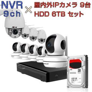 NVR ネットワークビデオレコーダー 9ch HDD6TB内蔵