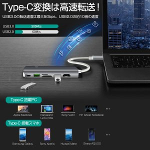 USB Type C MacBook Pro ハブ MacBook Air 2019対応 9in1 4K HDMI 1Gbps有線LAN PD充電 USB 3.0ポートx2 microSD 拡張 変換 3ヶ月保証 K&M|km-serv1ce|03