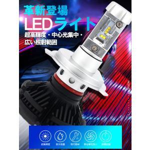 LEDヘッドライト 2個入り 6000LM H4 HI/LO H7 H8 H9 H10 H11 H16 HB3 HB4 HIR2 LEDチップ バイク 車 対応 12V 24V 1年保証 K&M|km-serv1ce|02