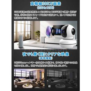 防犯カメラ C7823 100万画素 ベビー ペットカメラ ワイヤレス 屋内 無線WIFI SDカード録画 監視カメラ 新モデル Vstarcam PSE 技適マーク 1年保証 K&M|km-serv1ce|06