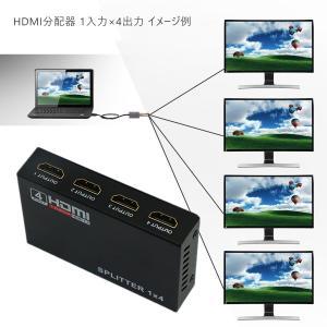 HDMI分配器 HDMI スプリッター 1入力4出力 4k 2K FHD 3D映像対応 電源アダプター TV PC 任天堂スイッチ Fire TV Stick等に対応 1ヶ月保証 K&M|km-serv1ce|07