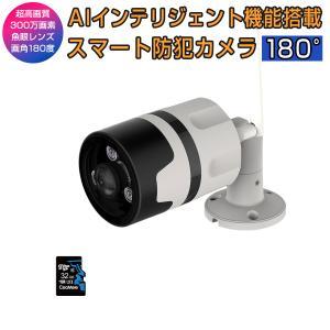 防犯カメラ C63S 200万画素 SDカード32GBセット商品 魚眼レンズ 屋外 屋内 無線WIFI 監視 ネットワーク IP WEB カメラ Vstarcam PSE 技適 1年保証 K&M|km-serv1ce