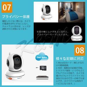 防犯カメラ C46 100万画素 ベビーカメラ 屋内用 無線WIFI SDカード録画 監視 ネットワーク IP WEB カメラ Vstarcam PSE 技適 1年保証 K&M|km-serv1ce|06