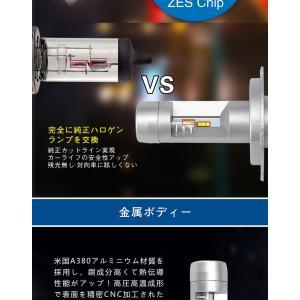 NISSAN フェアレディZ(Minor後) H10.10〜H12.8 Z32 フォグランプ[H3a]加工必要 LED H3 2個入り 12V 24V  6ヶ月保証|km-serv1ce|04