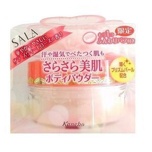 カネボウ サラ ボディパフパウダーN限定セット プリズムパール 40g サラ スウィートローズの香り