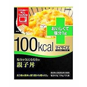 100kcal マイサイズ いいね! プラス 塩分が気になる方の親子丼 150g|kmint