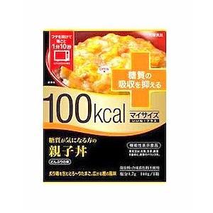 100kcal マイサイズ いいね! プラス 糖質が気になる方の親子丼 140g|kmint