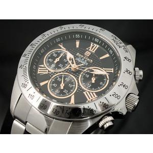 ダンクラーク DONCLARK クロノグラフ 腕時計 DM-2051-07R|kmmnetshop