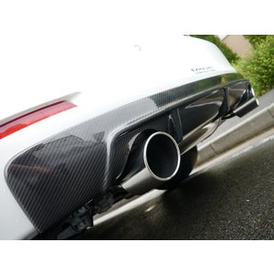 ARQRAY MOTOR SPORT Rear Diffuser BMW F30/31 320i/328i SEDAN & TOURING DUAL Tail Carbon Type 803AMS04|kn-carlife