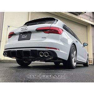 ARQRAY アーキュレー Audi アウディA4 Avant 2.0 TFSI quattro 8WCYRF ステンレス マフラー 左右W 8500AU04|kn-carlife